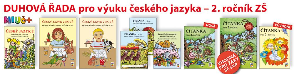 DUHOVÁ ŘADA pro výuky českého jazyka - 2. ročník ZŠ