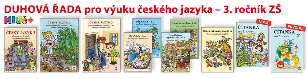 DUHOVÁ ŘADA pro výuky českého jazyka - 3. ročník ZŠ